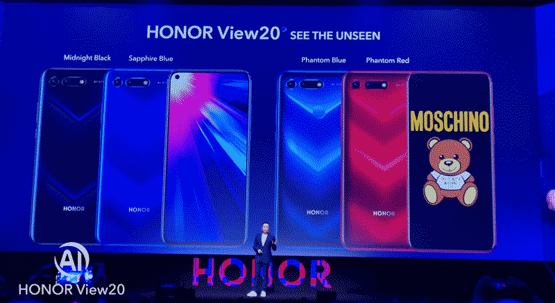 HONOR View 20大马售价公布:6+128G RM1999起! 1