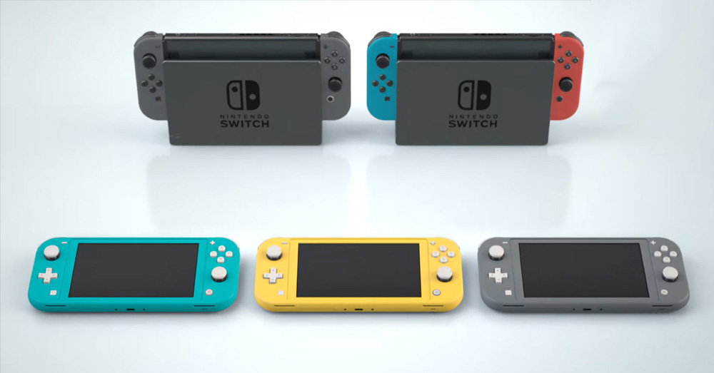 Nintendo Switch Lite 正式发布