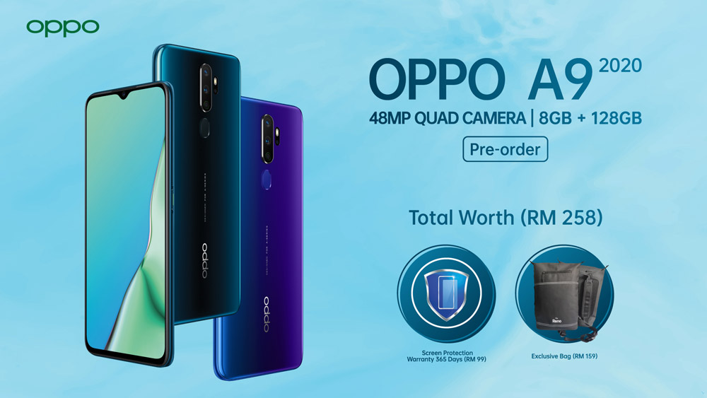 OPPO A9 2020 今日开放预购