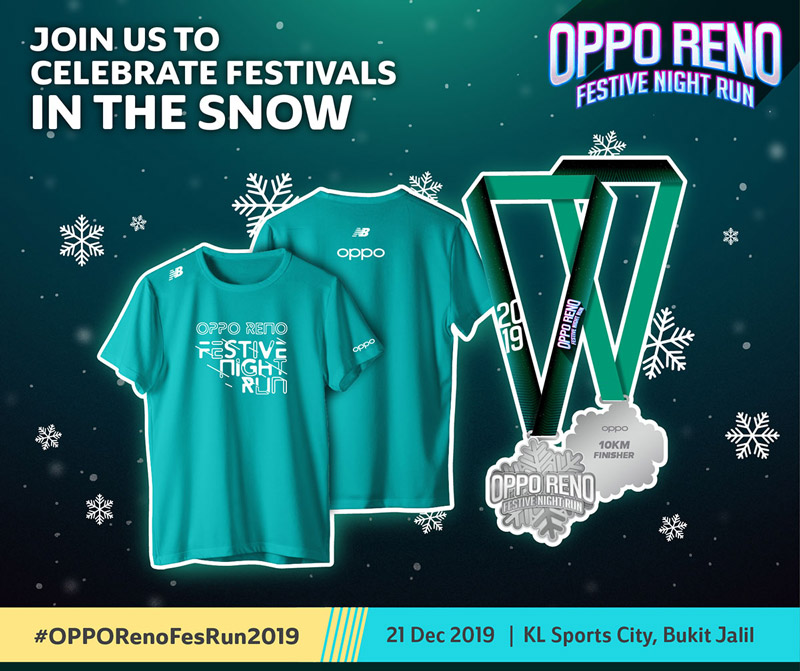 OPPO Reno Festive Night Run