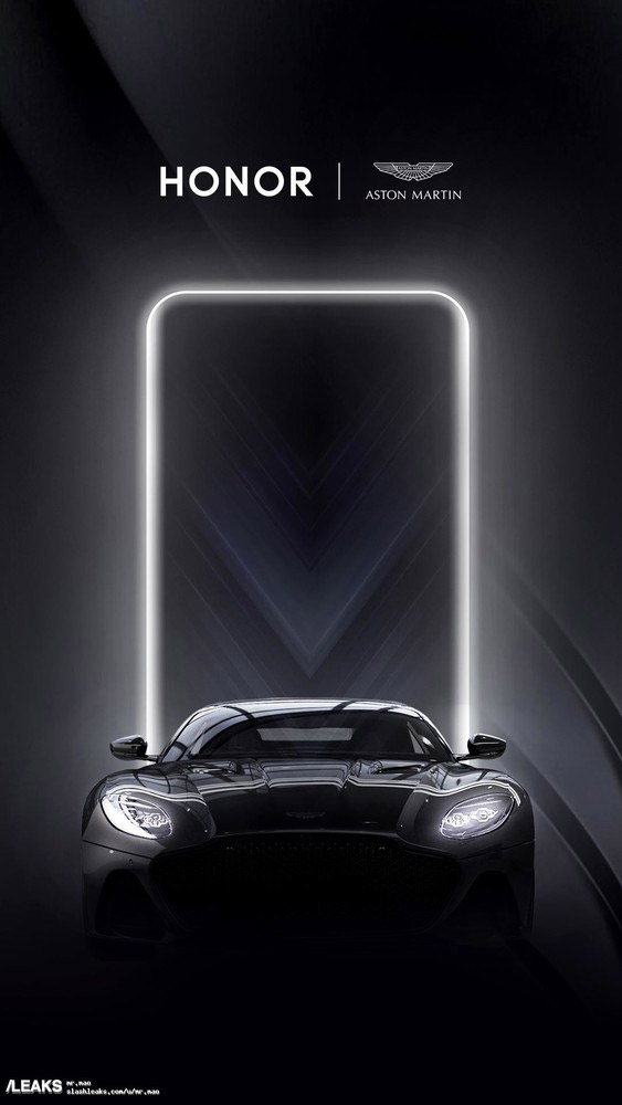 HONOR x Aston Martin 海报曝光