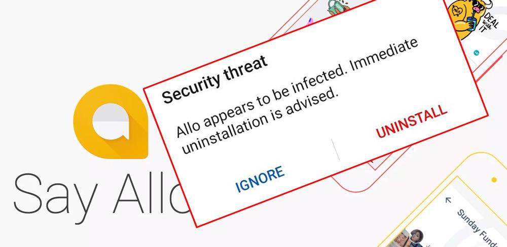 Huawei手机警告用户