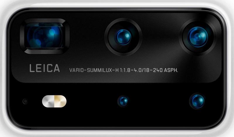 Huawei P40系列渲染图和相机配置曝光