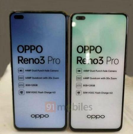 OPPO Reno3 Pro将在3月2日发布