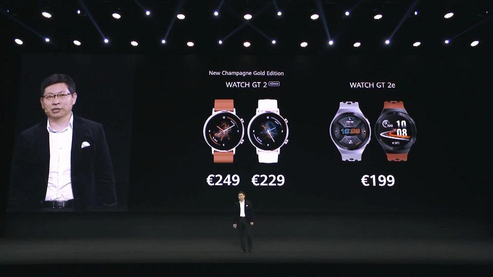 Huawei Watch GT 2e发布