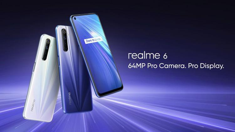 realme 6系列在印度发布