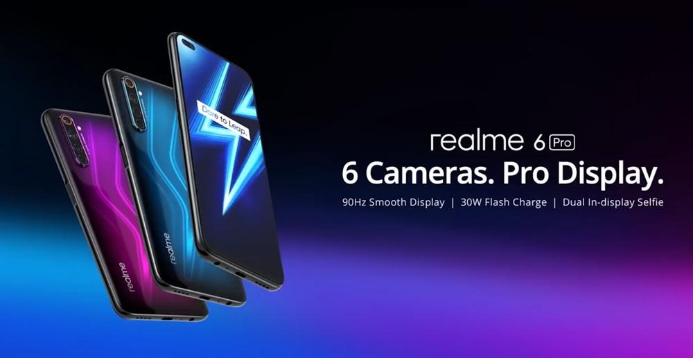 大马realme 6 Pro将在5月11日