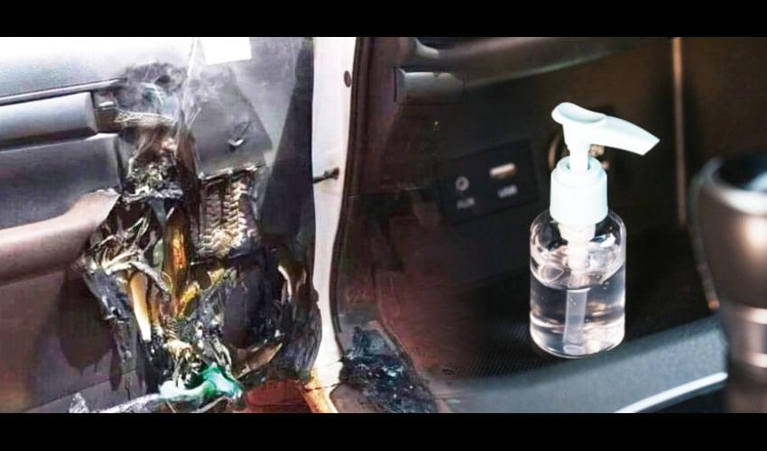 为何免洗洗手液放在车内会爆炸? 1
