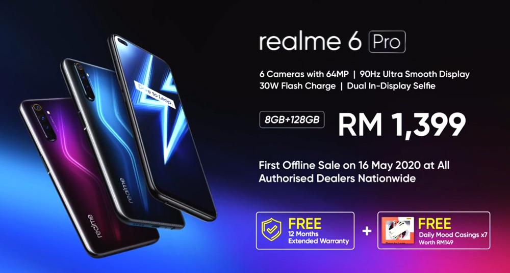 大马realme 6 Pro发布,售价RM1399! 1