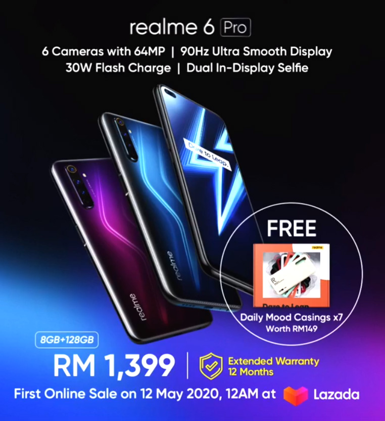 大马realme 6 Pro发布