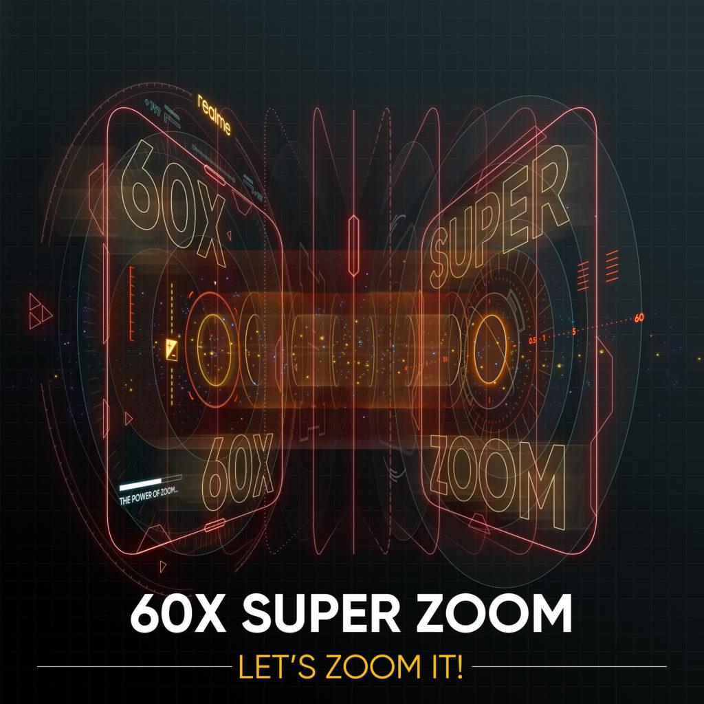 realme X3 SuperZoom:64MP四摄+60倍超级变焦+星空模式! 1