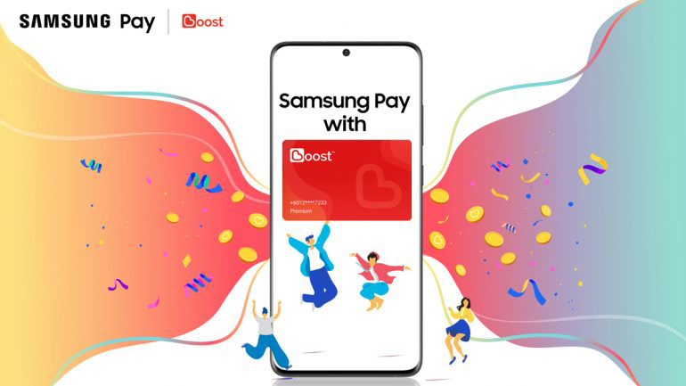 Samsung Pay 联手Boost