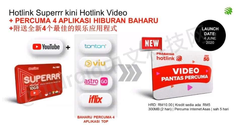 【独家】Hotlink新配套曝光:无限Data+无限通话每月只需35?! 6