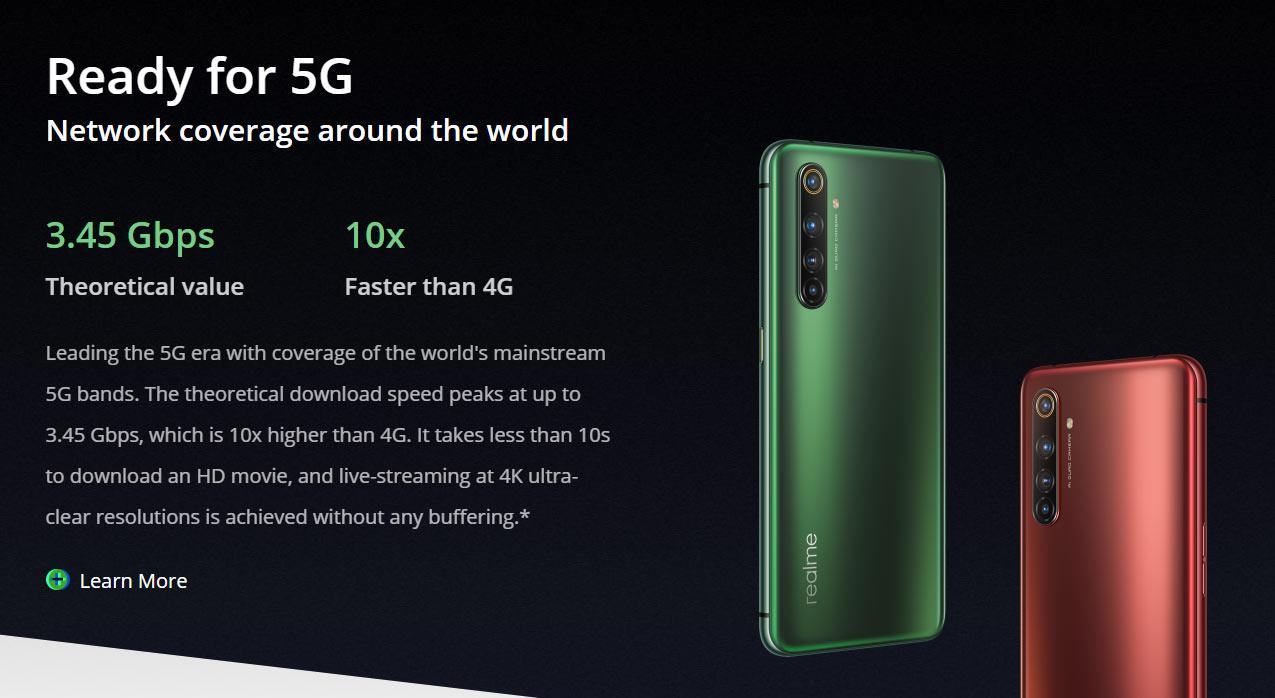 竞速旗舰realme X50 Pro