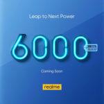 realme即将推出6000 mAh超大电池手机!