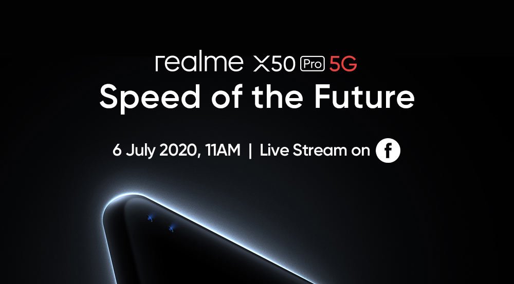大马realme X50 Pro 5G将于7月6日发布