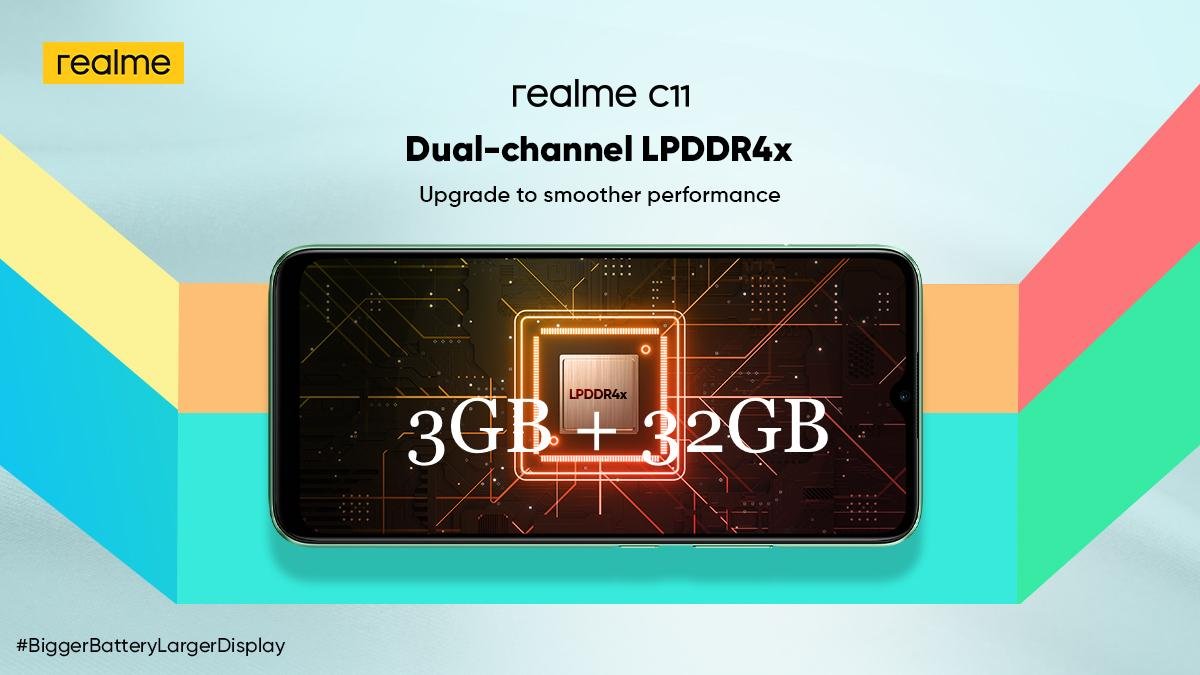 realme C11 3+32GB版:最佳流畅体验的入门手游神机! 2