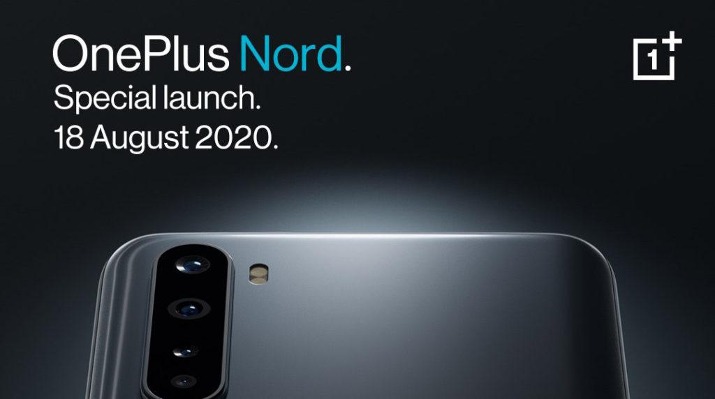 大马OnePlus Nord将于8月18日发布