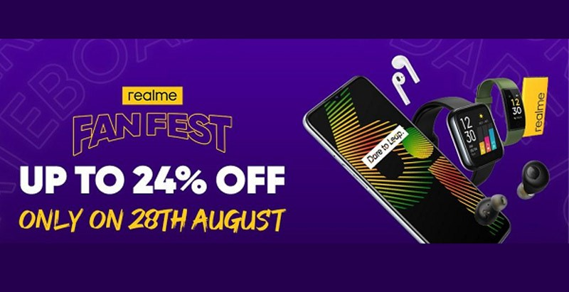realme超级品牌日8月28日开跑:买手机送总值RM1425赠品!