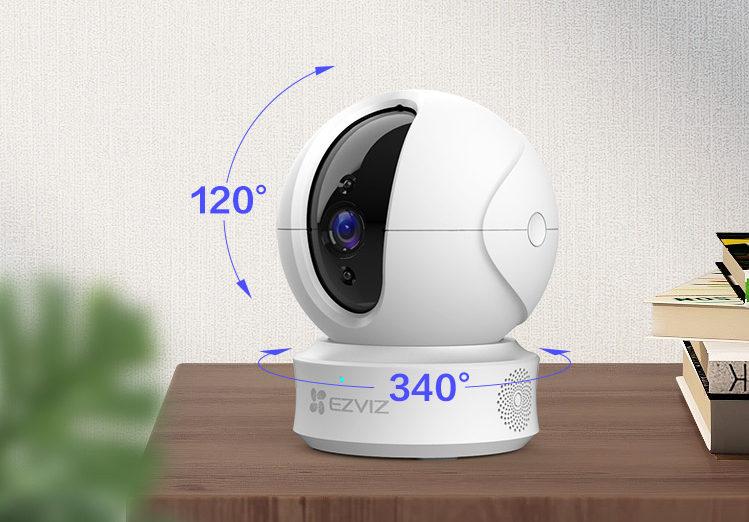 EZVIZ C6CN 智能家居摄像机,家的全方位看护