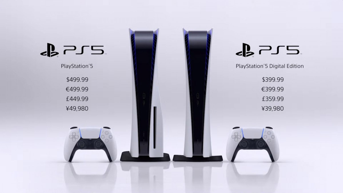 Playstation 5售价和发布日期公布