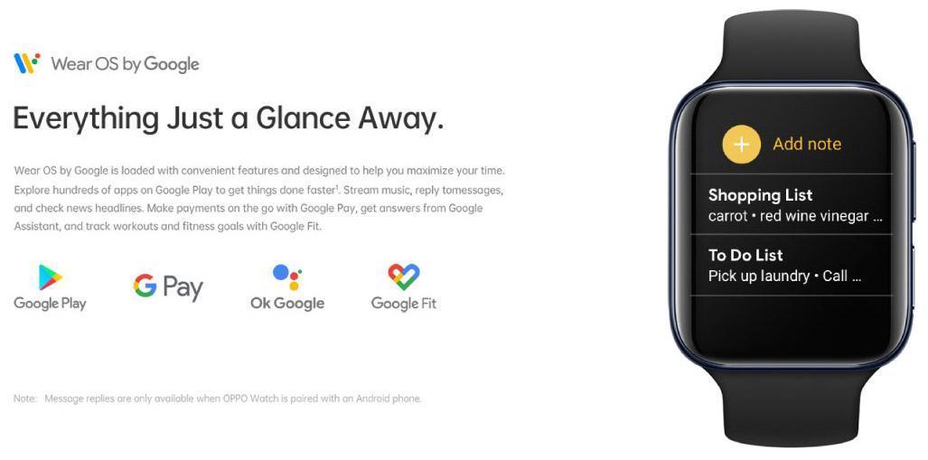 """安卓智能手表中的""""旗舰""""OPPO Watch:全球首款同时搭载谷歌WearOS和双曲面设计,顶级功能+AI穿搭表盘,科技与时尚的结合! 1"""