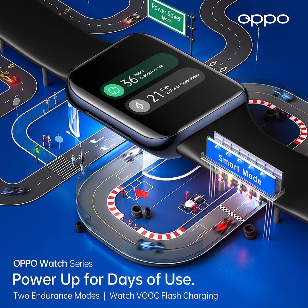 """安卓智能手表中的""""旗舰""""OPPO Watch:全球首款同时搭载谷歌WearOS和双曲面设计,顶级功能+AI穿搭表盘,科技与时尚的结合! 6"""