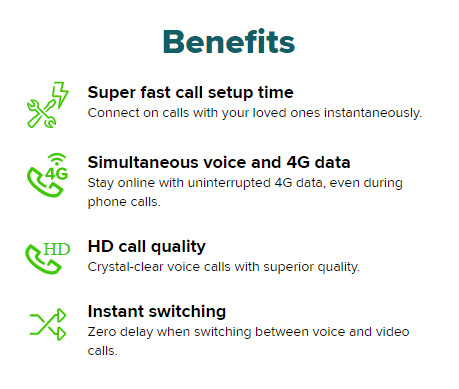 Maxis启用VoLTE服务