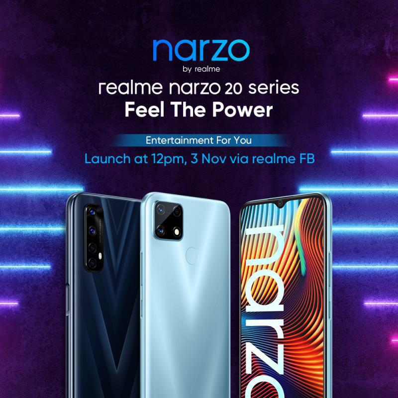 realme narzo 20 Pro重磅登陆大马:65W闪充+超大电池,续航能力出众! 5