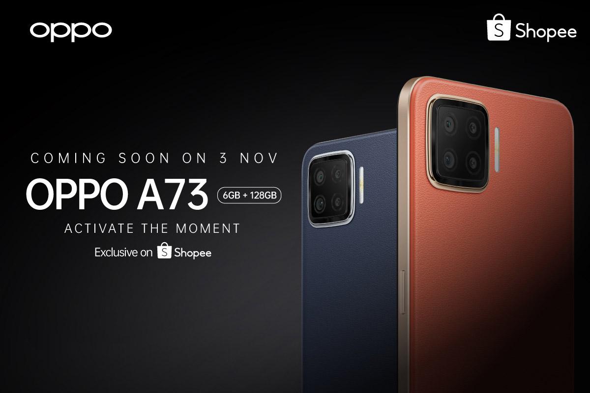 大马OPPO A73将在11月3日发布