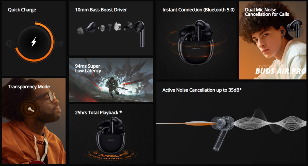 realme Buds Air Pro、Buds Wireless Pro发布,售价约RM226起! 1