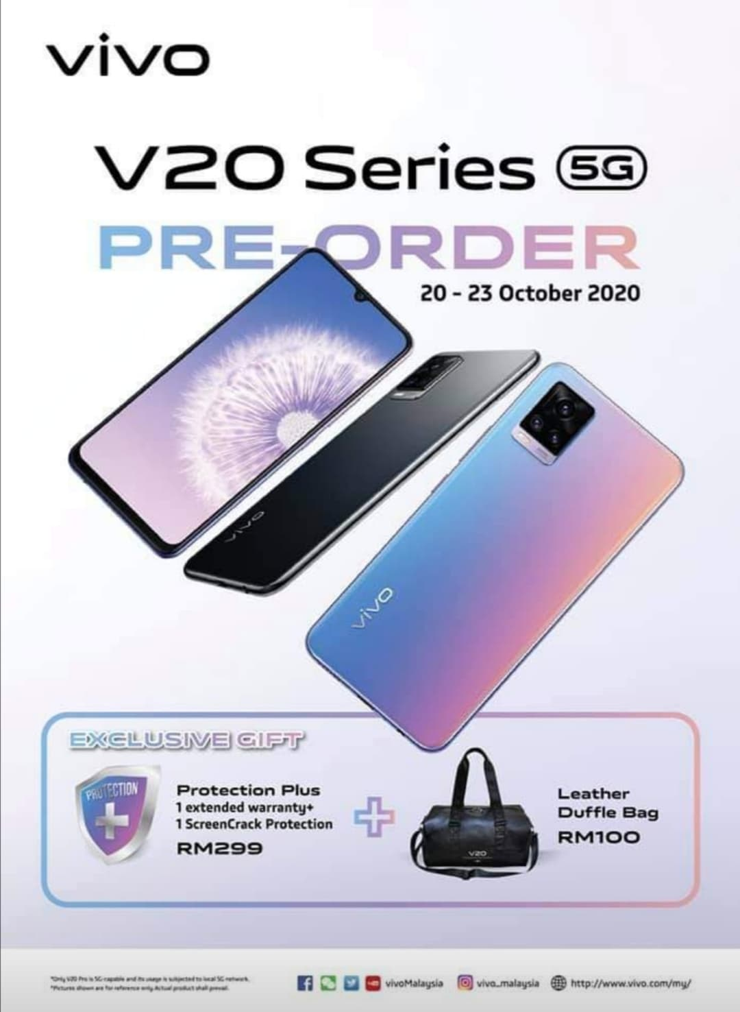 大马vivo V20、V20 Pro发布,售价RM1499起! 8