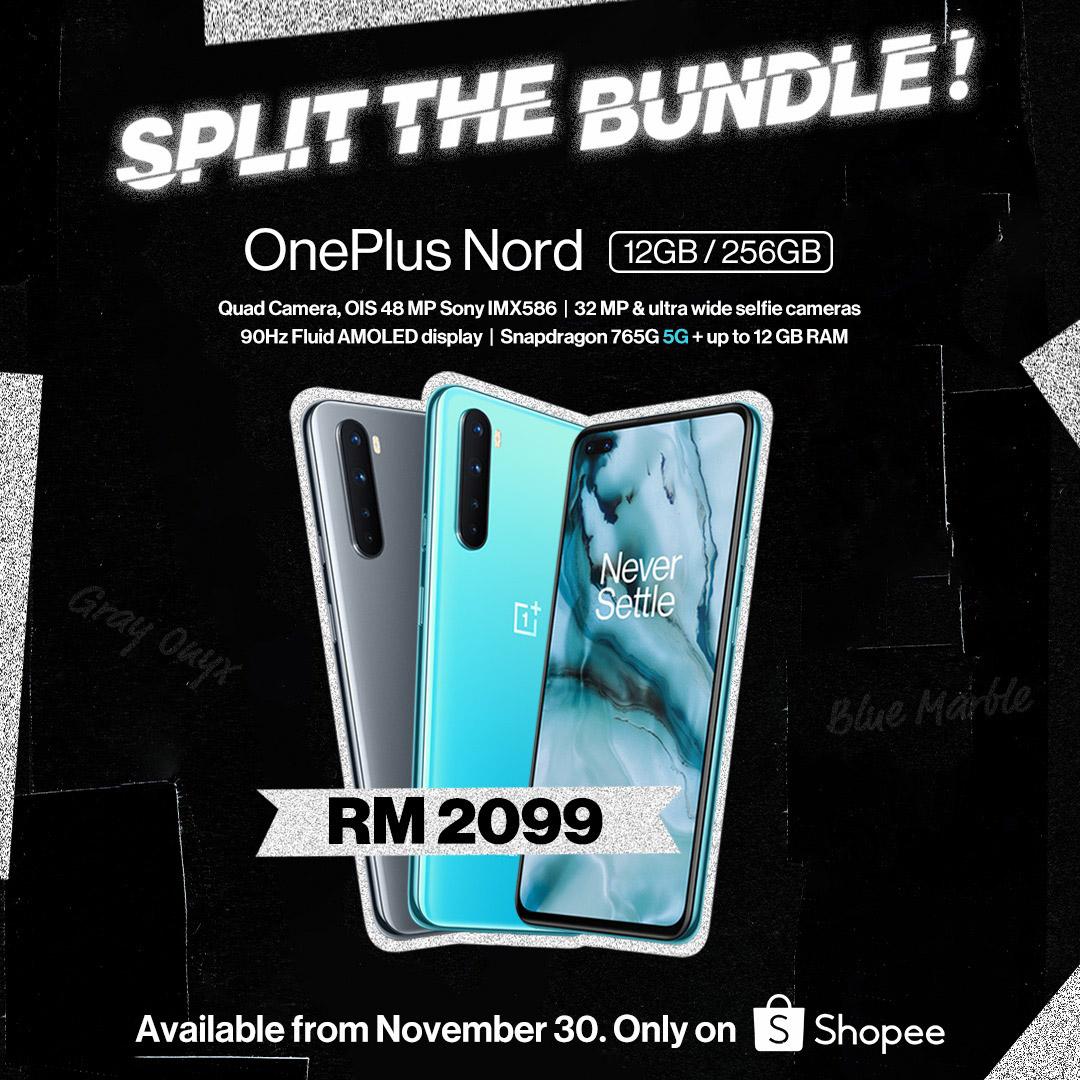 大马OnePlus Buds Z将于11月30日发布