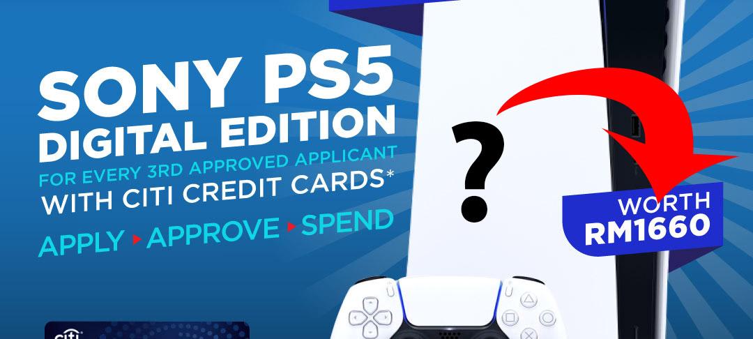 网传PS5数字只卖RM1660