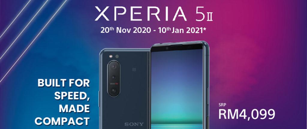 大马Sony Xperia 5 II开启预购