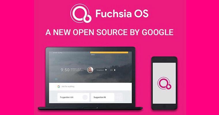 Google Fuchsia OS正式官宣