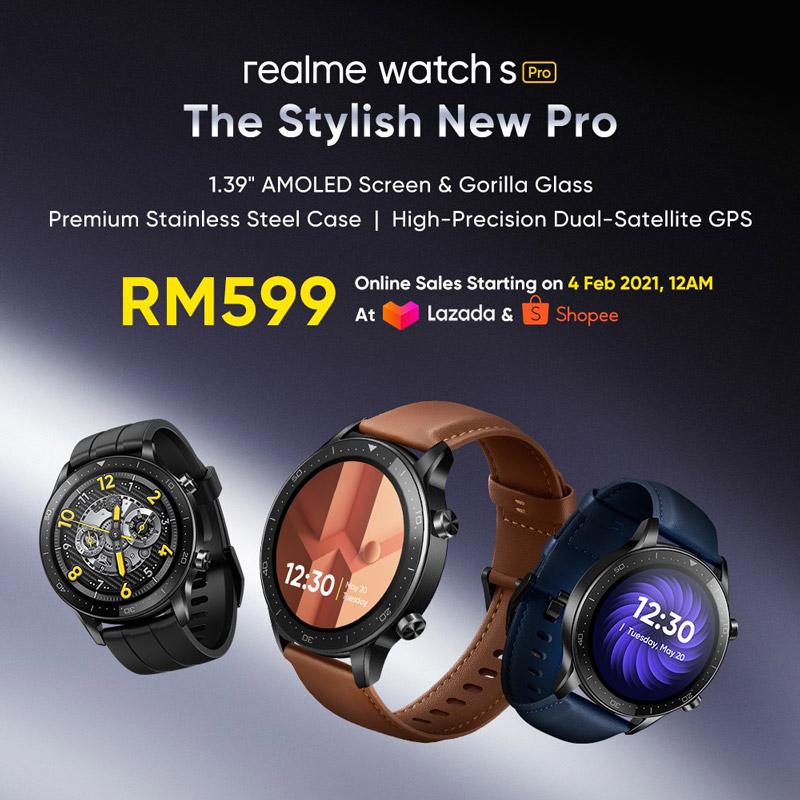 大马realme watch S Pro发布,售价RM599! 3