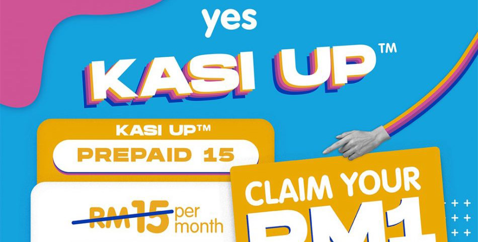 Shopee上购买10GB YES预付SIM只需RM1