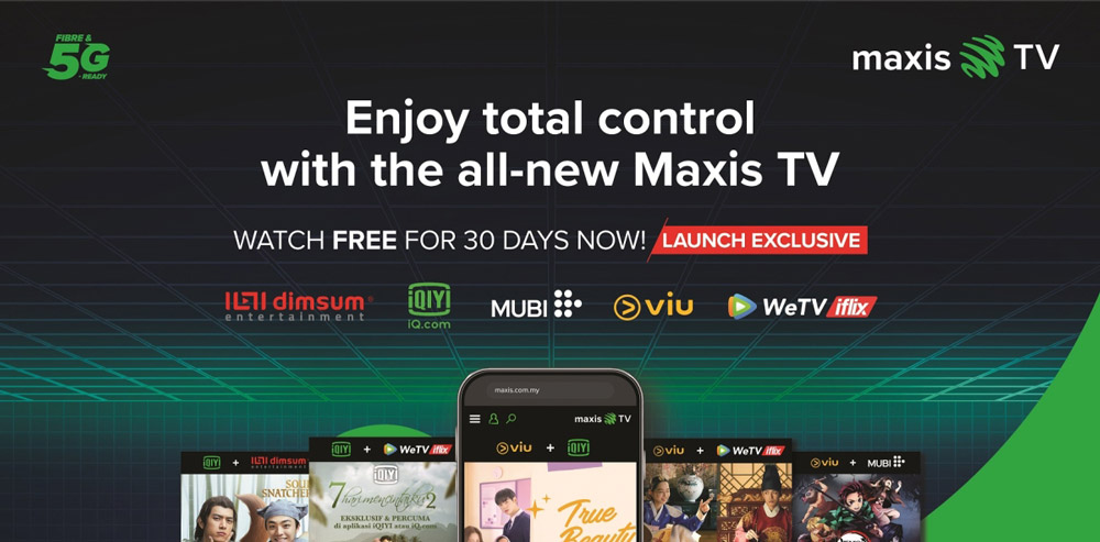 Maxis TV