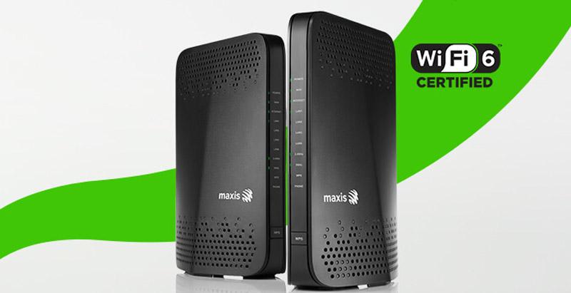 签Maxis 100Mbps或以上配套
