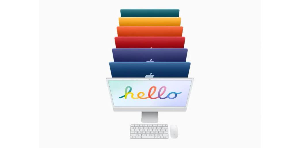 苹果iMac 2021发布