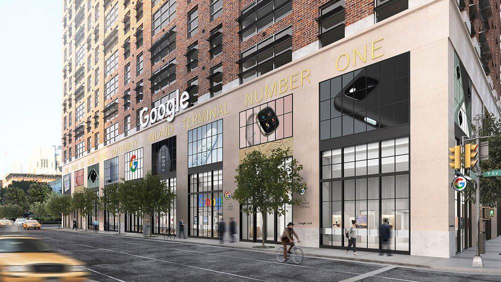 Google将在纽约开设全球第一家门店