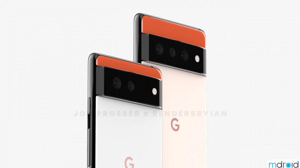 Google Pixel 6系列渲染图曝光