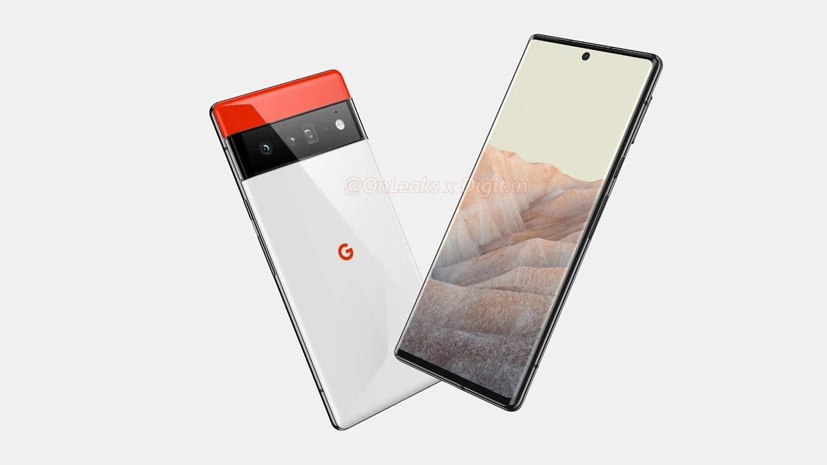 Google Pixel 6 Pro高清渲染图曝光