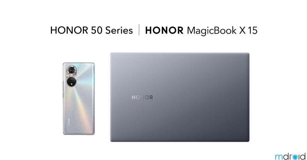 HONOR MagicBook X 15系列笔电6月19日开卖! 为 HONOR 50大马上市布局智能互联 11