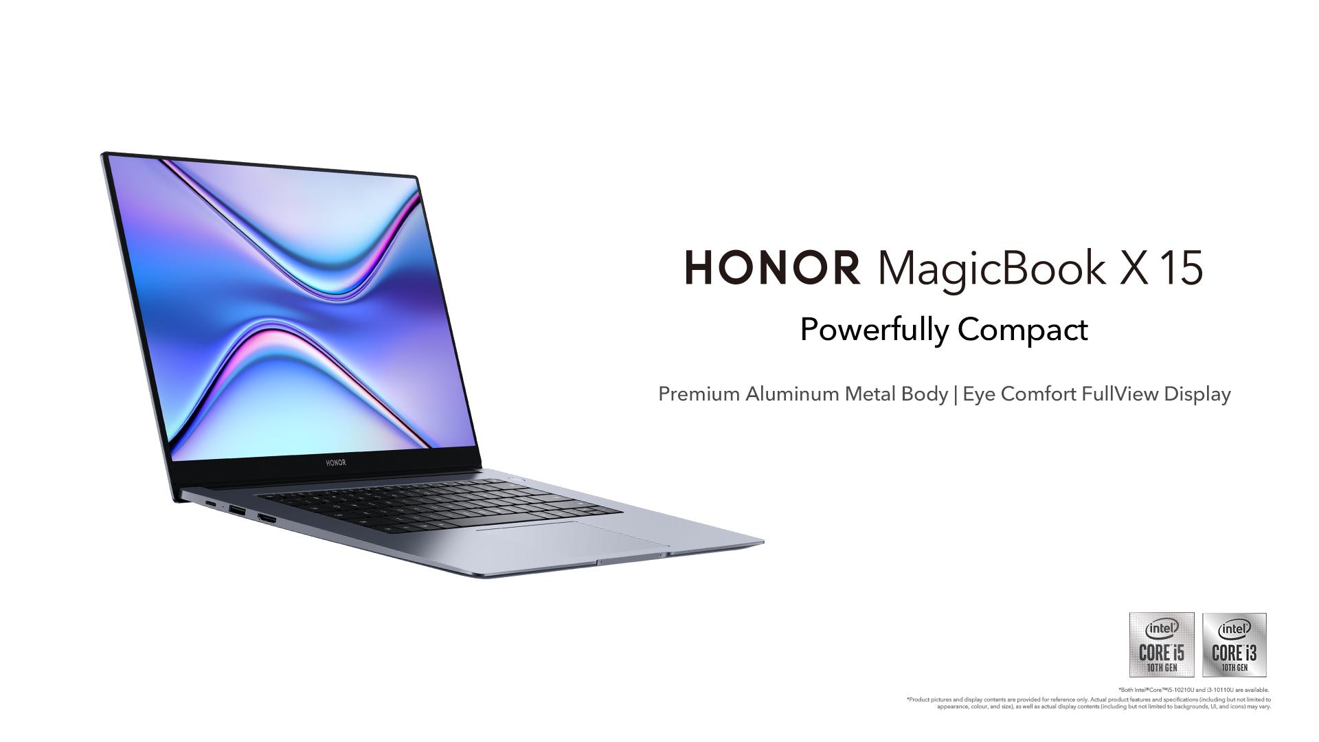 HONOR MagicBook X 15系列笔电6月19日开卖! 为 HONOR 50大马上市布局智能互联 13