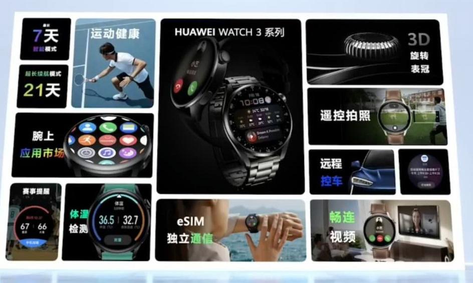 大马HUAWEI Watch 3系列将于6月25日发布 2