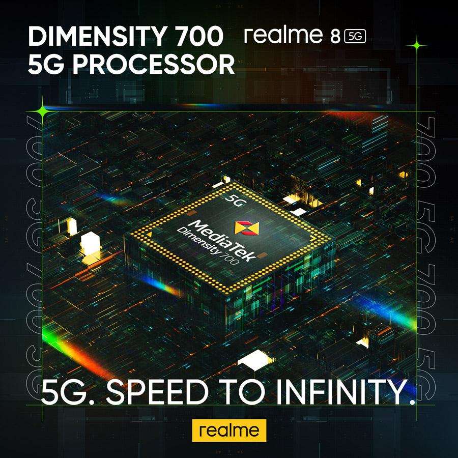 realme 8 5G 搭载DRE动态内存拓展技术,如今可以在Celcom签购并获取免费手机! 2