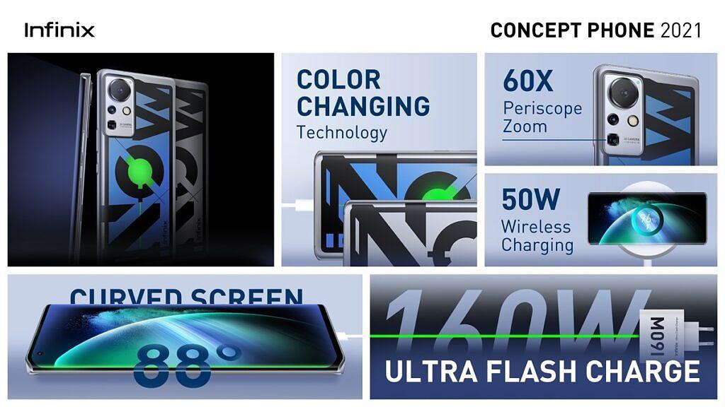 Infinix Concept Phone 2021公布