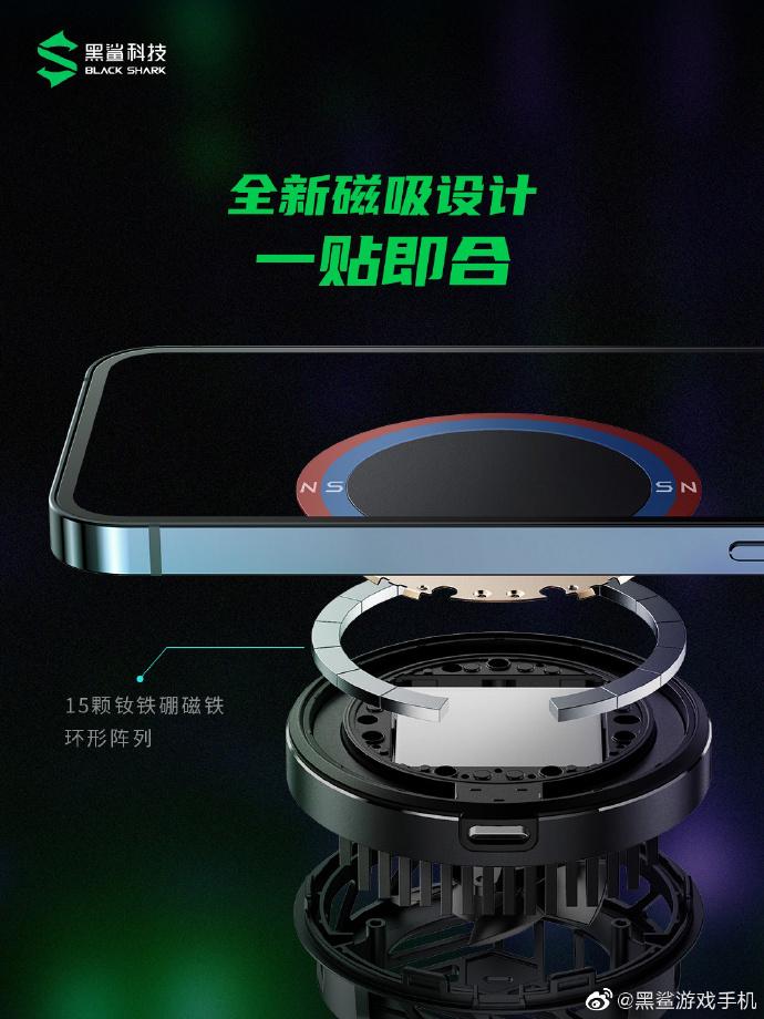 Black Shark将推出iPhone 12手游配件